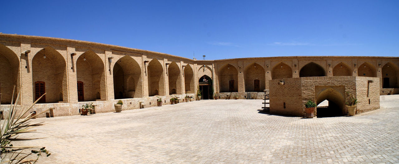Veduta di Yazd Arch Architecture Built Structure History Iran No People Outdoors Sky Travel Destinations Yazd,Iran