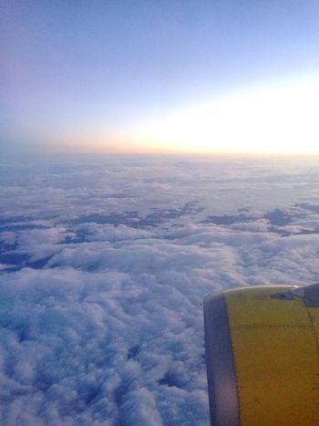 amanecer Sunrise Sky Sky_collection Skyporn Clouds Plane
