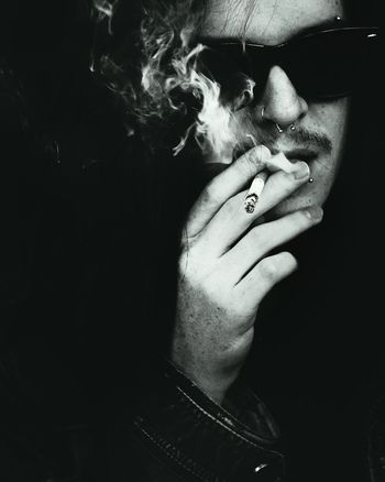 Man Noir Portrait Cigarette  Real People Human Condition Art Photography ExpressYourself Eye4photography  Dynamic Cinematic Capturing Movement Monochrome