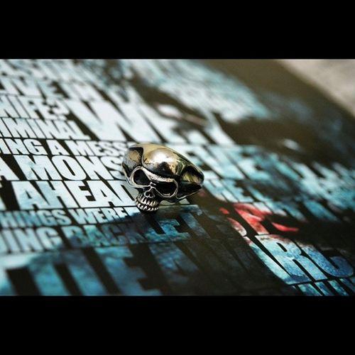 Skull Goskull Joker Laptopskin skullring like4like follow likes crazy scary