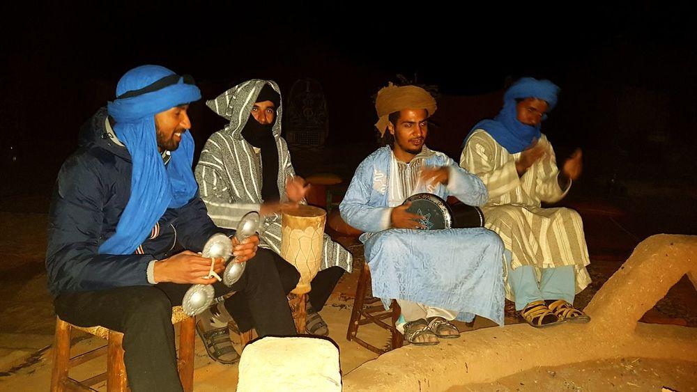 People Small Group Of People Night Music Drink Men Morocco South Morocco Music Of Sahara Sahara Desert