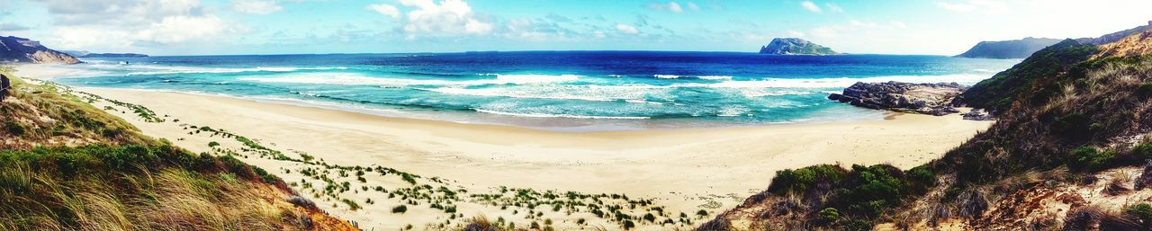 Sea Beach Sand Nature Photography Beauty In Nature Outdoors Tree Water Travel Destinations Horizon Over Water Scenics Day Summer Tranquility Sky Landscape No People Postcard Panoramic WA Pemberton Nature Tourism
