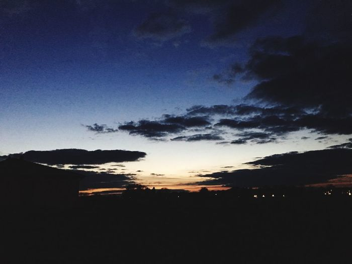 Sunset Sunset Silhouette Tranquil Scene Beauty In Nature Sky Nature Dark Scenics No People