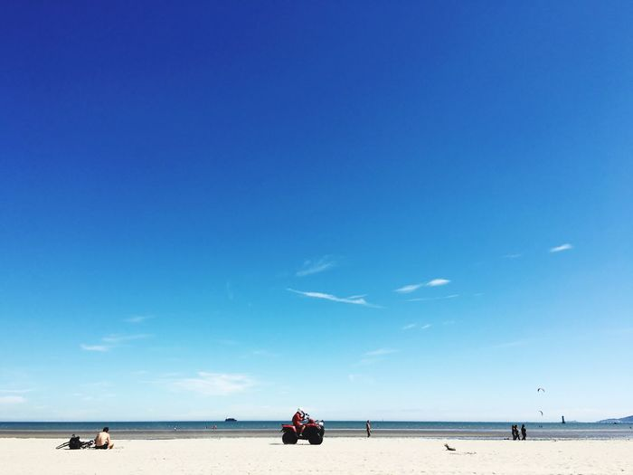 Beach and blue