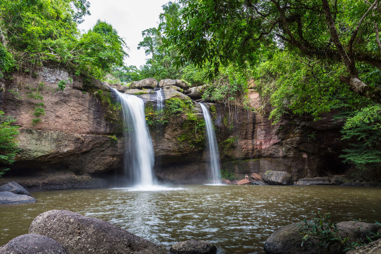 น้ำตกเหวสุวัต อุทยานแห่งชาติเขาใหญ่ Haew Suwat Waterfall Khao Yai Thailand Beauty In Nature Flowing Flowing Water Haew Suwat Waterfall Long Exposure Nature Outdoors Power In Nature Water Waterfall