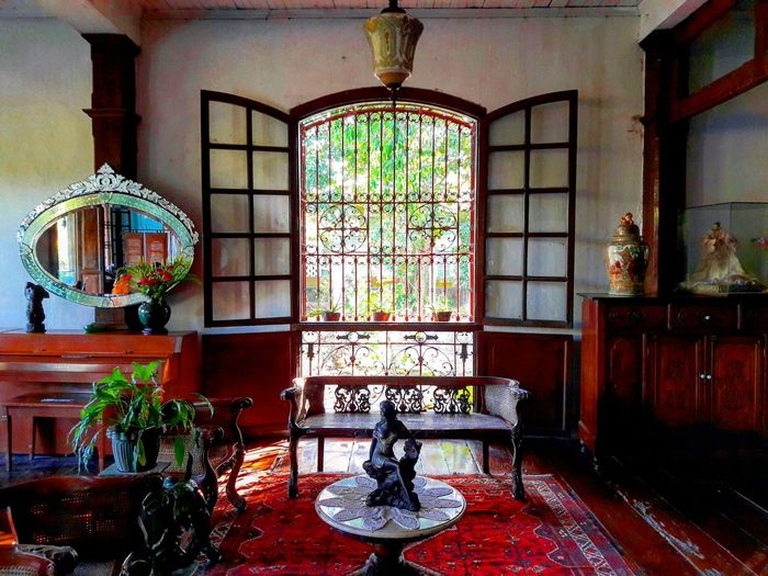 Window. Window Indoors  Architecture Old House Home Interior Antique House Balay Negrense