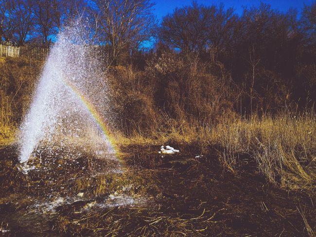 rainbow✨✨🌈 Rainbow Photo Taking Photos Beautiful Beautiful Nature Ukraine Woter WOW Handsomely Nature