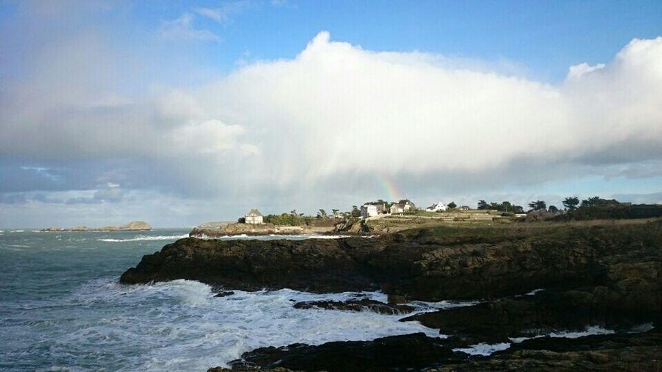 Saint Malo Love Saint Malo *_* <3 :*  Mer France Ciel Arc En Ciel Arc En Ciel Rainbow