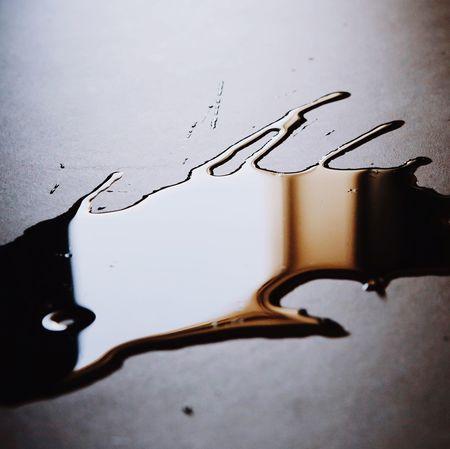 Liquid gold. Close-up No People Ink Water Liquid Spill The Week On EyeEm Editor's Picks