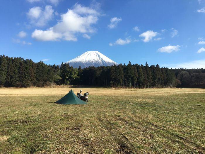 Camping Mt.Fuji Motorcycle