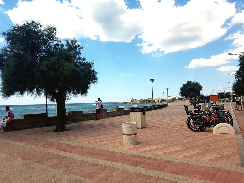 City Plaza Horizon Over Water Beauty In Nature Torre San Giovanni Puglia Italy🇮🇹 Tree Outdoors Travel Destinations Beach