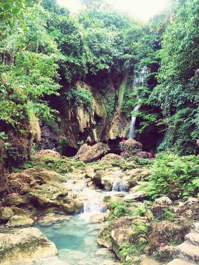Summer Summertime Sunny Day Waterfall Green Green Nature Natural Beauty