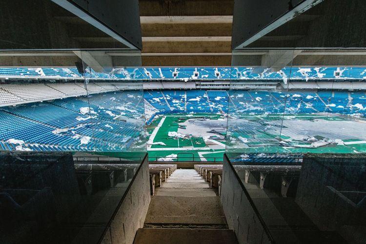 Blue Indoors  No People Day The Architect - 2018 EyeEm Awards