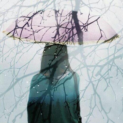 Bavlikizi Woman Rainy Days