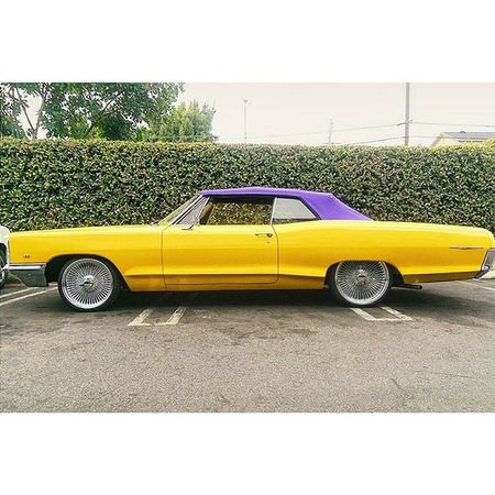 """The back of this whip reads """"Snoop Dogg."""" Whether this belongs to him or not, one thing is for sure. We are both upset with this whole Lakers free-agency so far. Lakers Snoopdogg Purpleandgold LakerNation la vscogood vsco"""