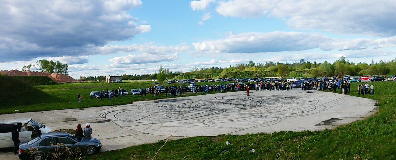 Streetrace Estonia Cars Sunny Day Season  🚘🚔
