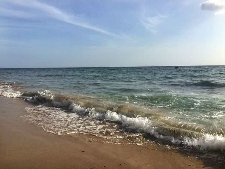 Ocean View Ocean Waves Puerto Rico Rincon