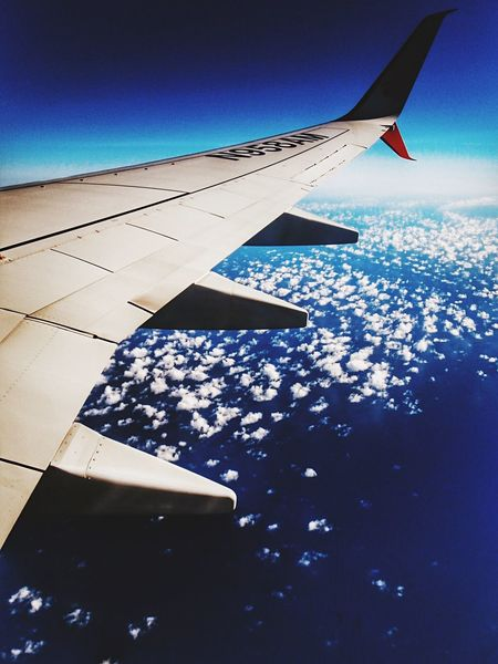 Ocean and Clouds Color_boom There Be Dragons Respect For The Good Taste Showing Why I Could Be An Open Editor Let's Do It Chic! Vscocam EyeEm Best Edits Airplane From An Airplane Window