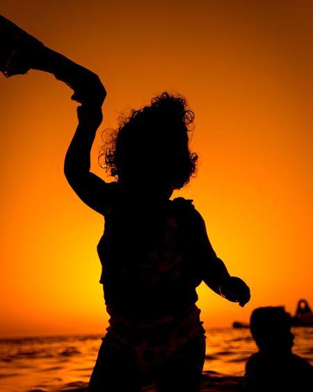 Sunset Standing