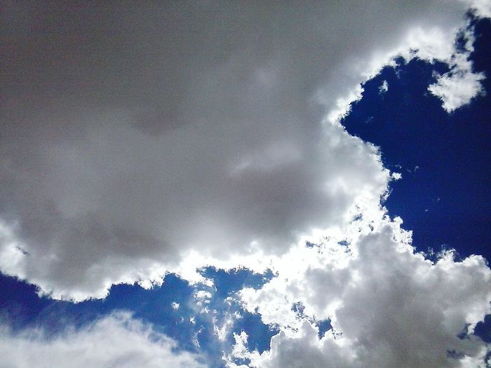 Low Angle View Sky Cloud - Sky Cloud Beauty In Nature Nature Day Sun Cloudscape Cloudy Blue Majestic Outdoors Full Frame Softness Perspective Outdooors Nature Cloud Low Angle View Clouds And Sun