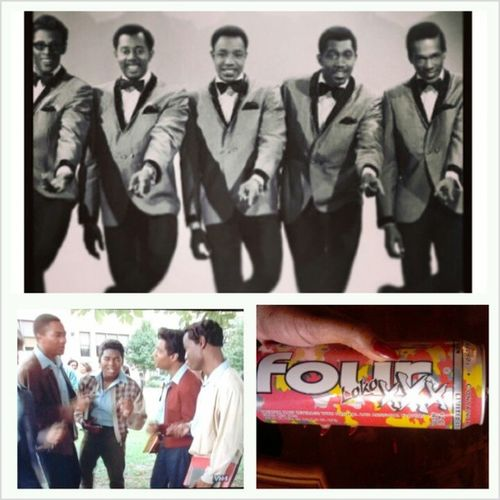 Relaxing on the couch, drinking my FourLokoXXX watching Vh1 TheTemptations I have at least seen a dozen times.