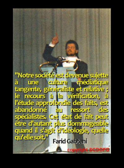 Coran Culture Médiatique Farid Gabteni Islam Quran