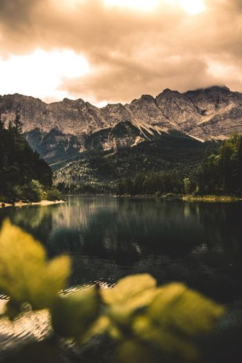 Eibsee beauty Germany Sony Eibsee Mountain Cloud - Sky Sky Beauty In Nature Scenics - Nature Tranquility Lake No People Water Tranquil Scene Mountain Range Tree Nature Plant Non-urban Scene Day Reflection Environment Idyllic Outdoors