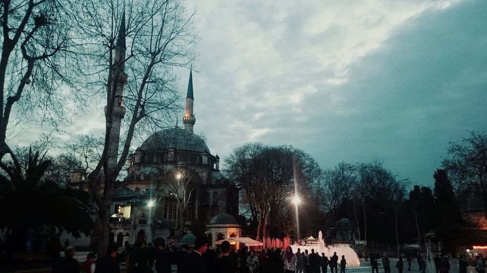 Eyüpsultancamii EyupSultanMosque Sky Muslimah Cloud - Sky Morning Outdoors Namaz People Day Building Exterior On The Road Eyeem Photos Club🚥⚠🚦 Istanbul Turkey Istanbuldayasam Travelling Taking Photos EyeEmNewHere EyeEm Best Shots Amazing Architecture Historical Building History EyeEm Ottoman Art Mosque Mosque Photography An Eye For Travel