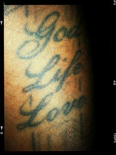 One God Life Love Tattoo Tatted Tat
