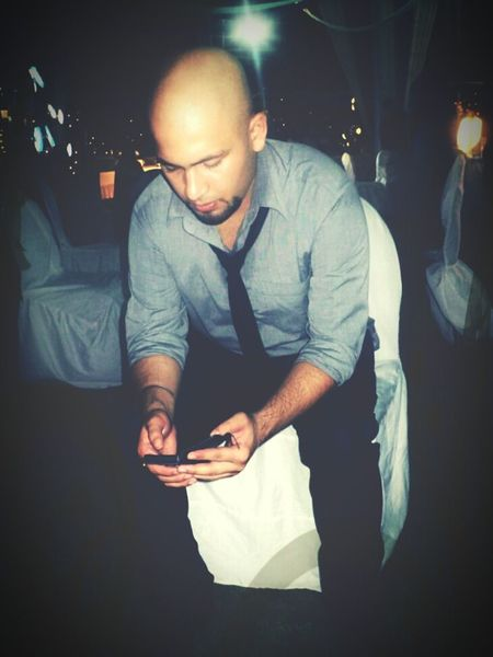 Check This Out Nightphotography Taking Photos That's Me Hanging Out Hello World POSEE ✌ Vintage Bald Beard People Around  People Of EyeEm