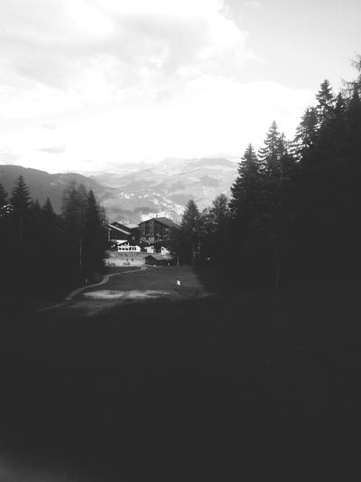 Paysage Montagne Doucy Valmorel