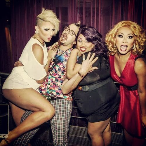Pretty sure this is me mid-orgasm... Thanks for an epic pride @jujubeeonline, @jigglybitch & @aprilcarrion! Let's Kiki again soon! 💑💓💋😍😈 Rupaulsdragrace @rupaulsdragrace Draglife Dragsandwich Somuchfish funtimes gayoltime pride kiki sexface datass queens yaasssss