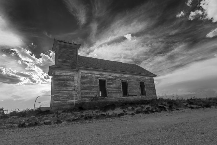 Abandoned Church Abandoned Places Church Church Tower New Mexico Rural Rural America Rural Scenes Abandoned Abandoned Buildings Billy The Kid Church Architecture Churches Clouds No People Religious  Religious Architecture Rural Landscape Rural Scene Southwest  Wood - Material