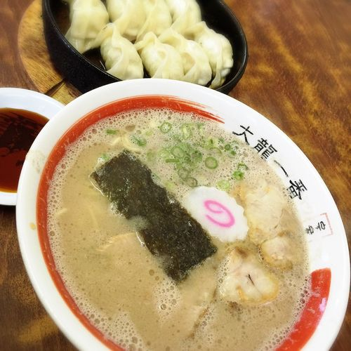 ラーメン Ramen ランチ Lunch 大龍一番 鉄鍋餃子