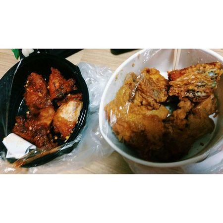CUSTOM HASHTAG 기숙묘미 이마트 치킨 양념 후라이드 먹방먹스타그램