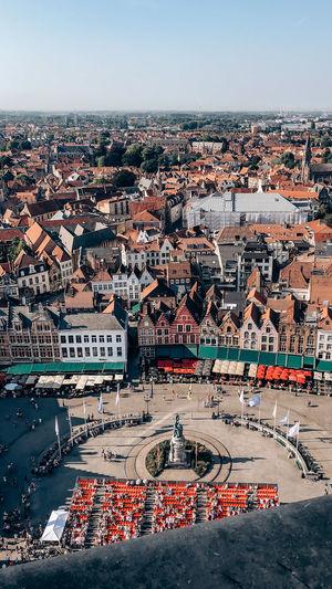 Brugge market place
