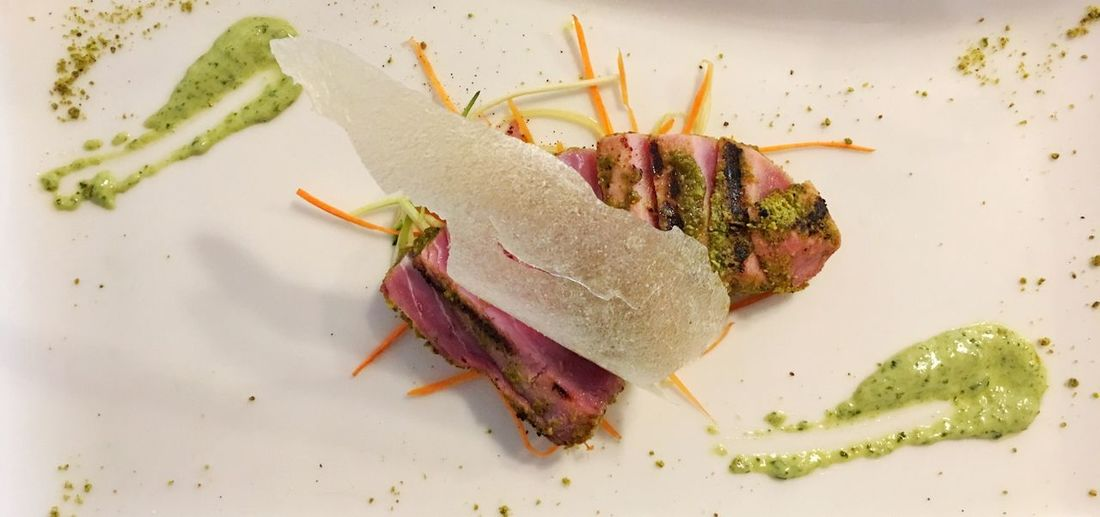 Tuna Tunafish Tonno Tagliata Ristorante Italian Food Food Foodporn Food Porn Foodphotography Italianfood Lunch Dinner Pranzo Cena Fish Restaurant
