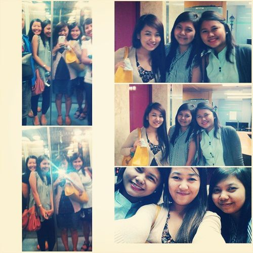 Who says Mondays aren't fun? :) Bublyfaceforever Officemates Imanila