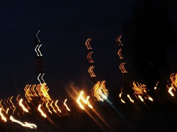 Lights Road Drive Thermal Power Station Driving Car Driving In The Dark Lights At Night Lights In The Dark Captured Through The Car Window Captured During Journey Imperfection Motion Blur Motion Photography In Motion Blurred Lights Blurred Motion No Filter Moving Fast Moving Fast In Car Lights Blur Lights In Motion Lights In A Row Glitch MeinAutomoment The Magic Mission