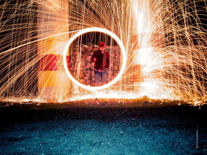 Wire Wool Water