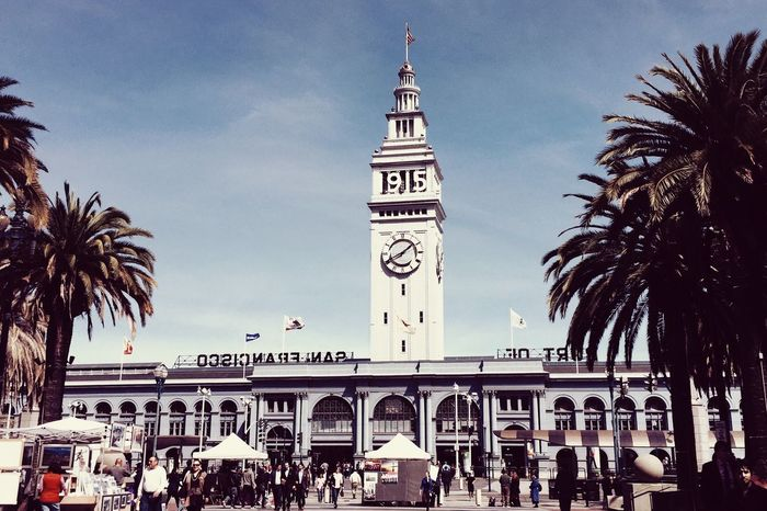 Historic Ferry Building San Francisco IPhoneography Architecture VSCO Vintage1 Travel Outdoors