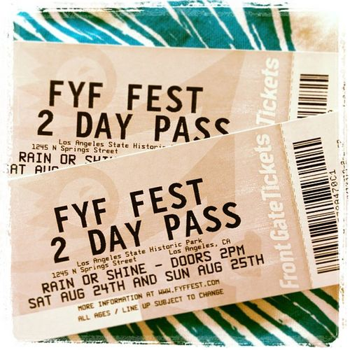 2 days of pre-birthday Funness Fyf  Music Losangeles ?