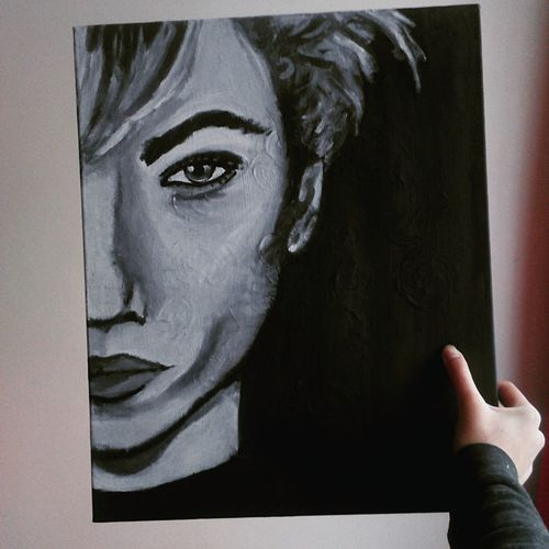Art Paint Painting Draw Drawing Art, Drawing, Creativity Inspiration Inspiration Lucky Blue Smith Lucky Blue Smith Blackandwhite