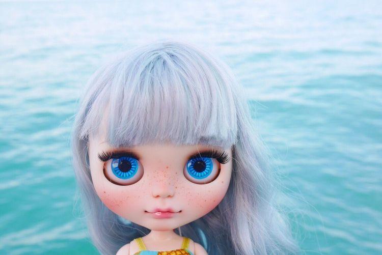Blue Blythe Blythe Doll Sea Ocean Phuket Phuket,Thailand