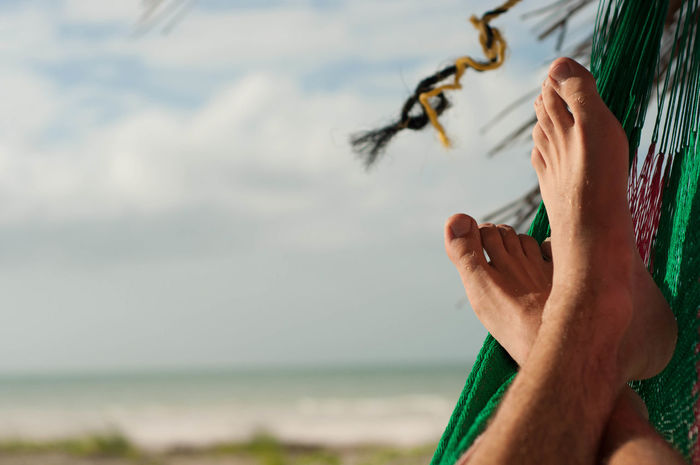 Barefoot Beach Depth Of Field Feet Hammock Outdoors Palm San Selective Focus Travel The Best From Holiday POV Q Qualitiy Time Qi The Essence Of Summer