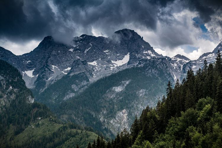 Gewitter Alpen