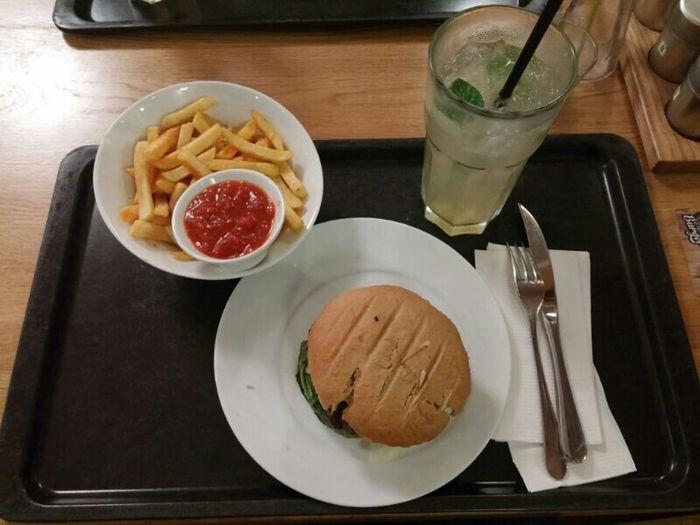 [Männer|Väter]abend mit Cheeseburger ...