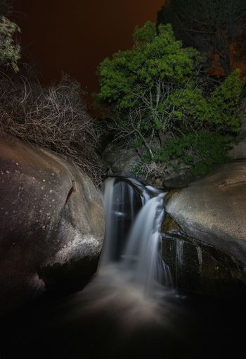 Water Long Exposure Motion Waterfall Nature Outdoors Beauty In Nature