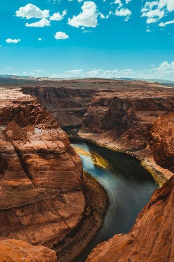 Horseshoe bend canyon