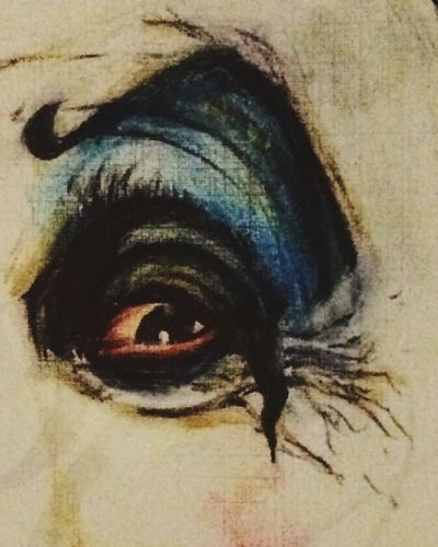 A drawing of an eye.. So far. Working on something here!! Please do enjoy.. The rest will be revealed later !! MistAke_Arts Art
